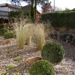 Steppengarten mit mehreren Perspektiven