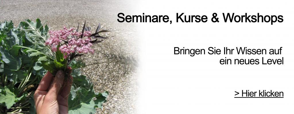 Garten Kurs, Garten Seminar, Garten Gutschein