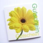 Garten Gutschein