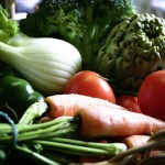 Balkon und Gemüse