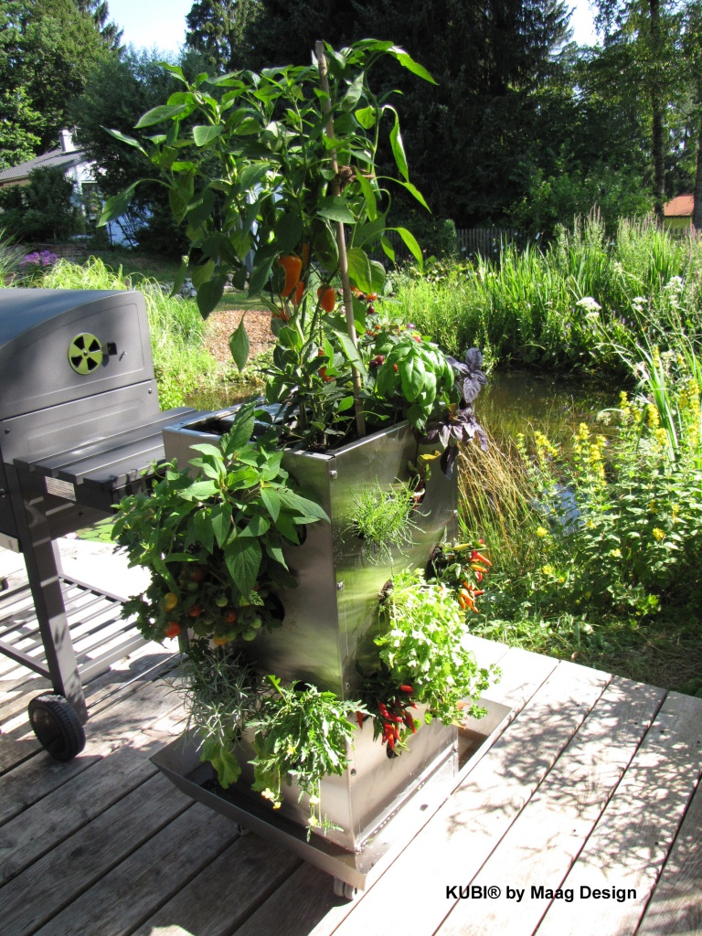 kubi mini aluminium paradiesgarten maag. Black Bedroom Furniture Sets. Home Design Ideas