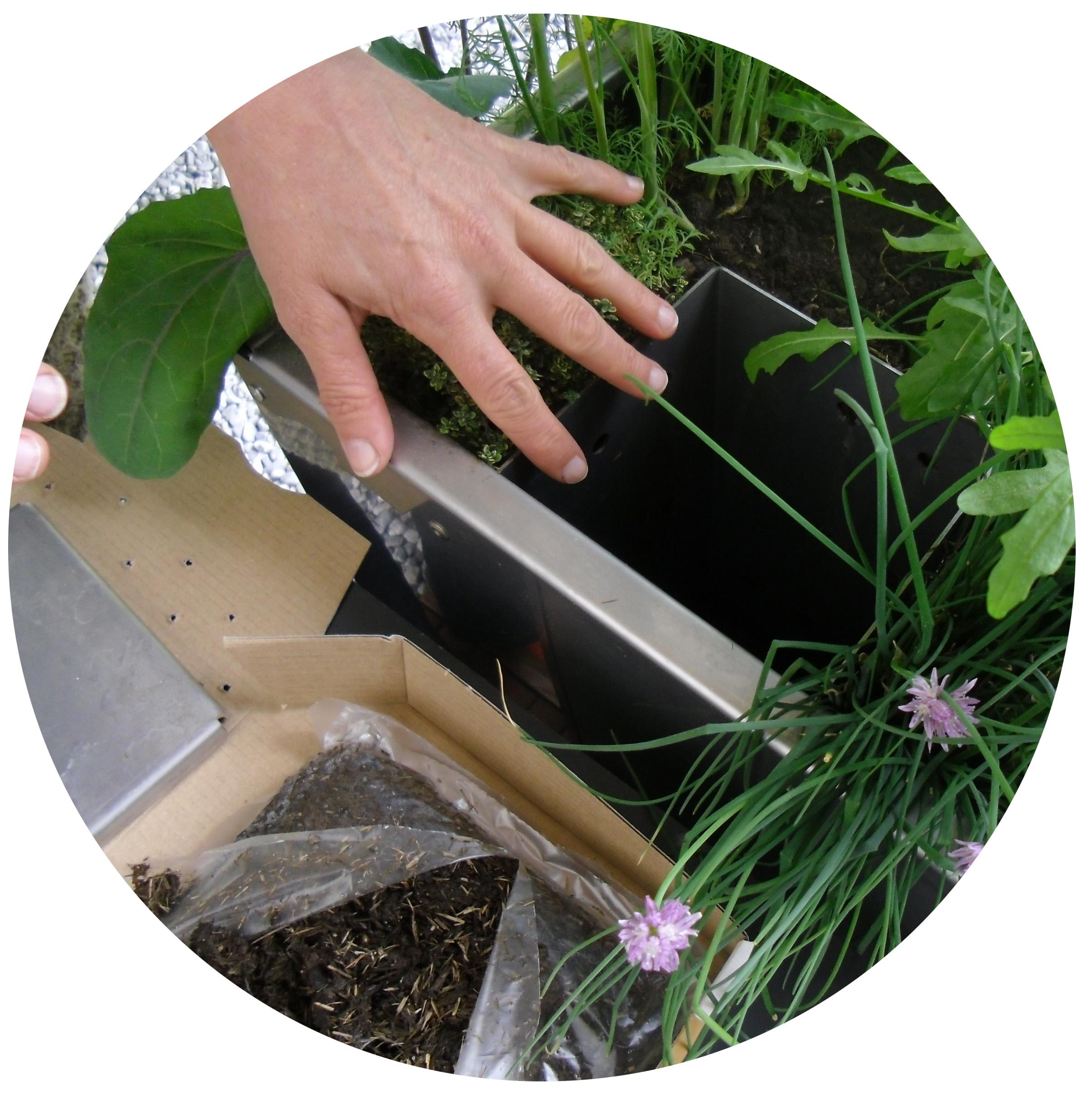 kompostw rmer paradiesgarten maag. Black Bedroom Furniture Sets. Home Design Ideas