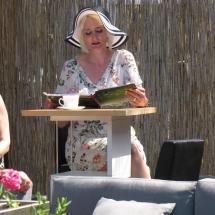 Lesung im Paradiesgarten Maag