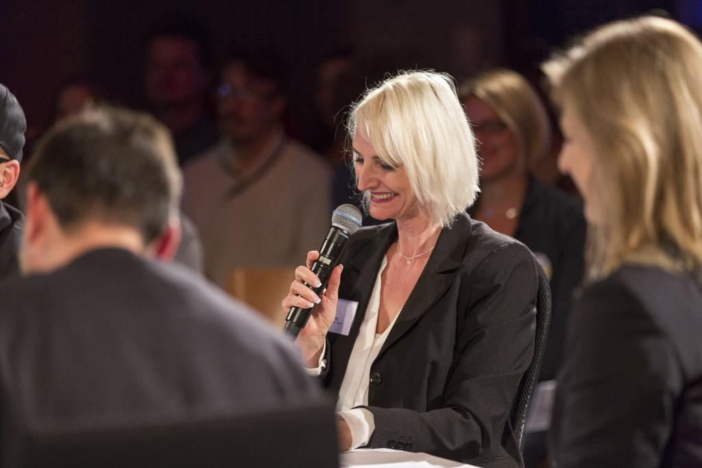 Sibylle Maag Jury Allgäuer Gründerpreis, Gründerbühne 2016