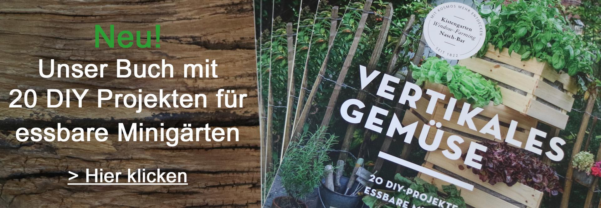 Vertikales Gemüse Banner